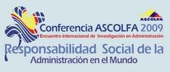 Conferencia ASCOLFA 2009: La responsabilidad social de la administración en el mundo