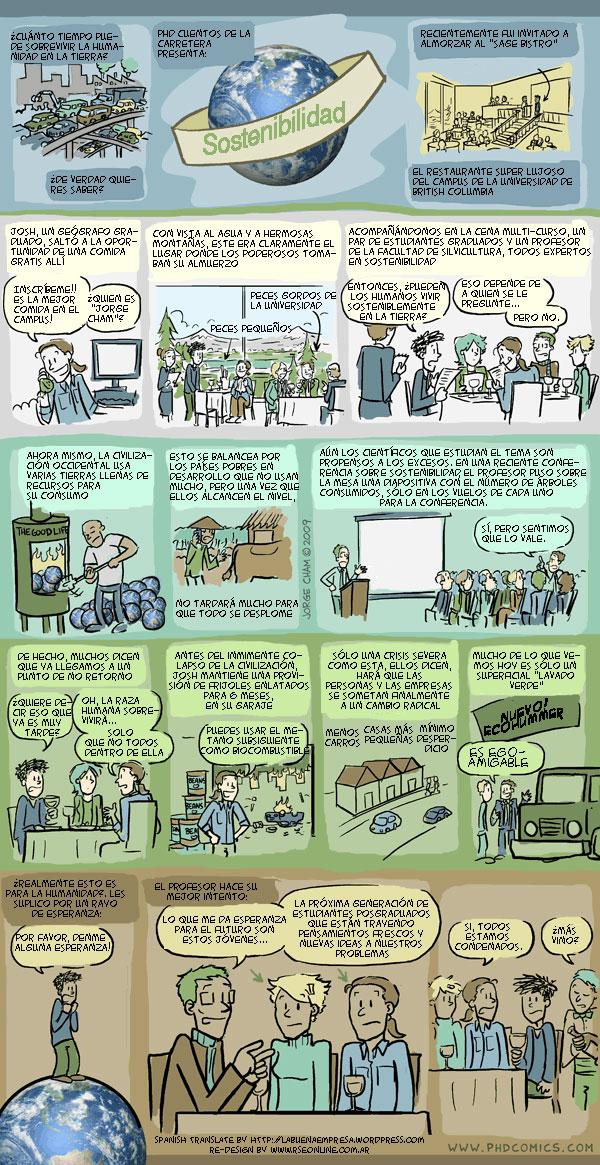 Aprendiendo de sostenibilidad