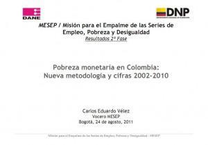 Medición de la Pobreza en Colombia y los $ 187.079